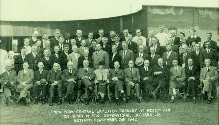 NY Central Employees 30 SEP 1940