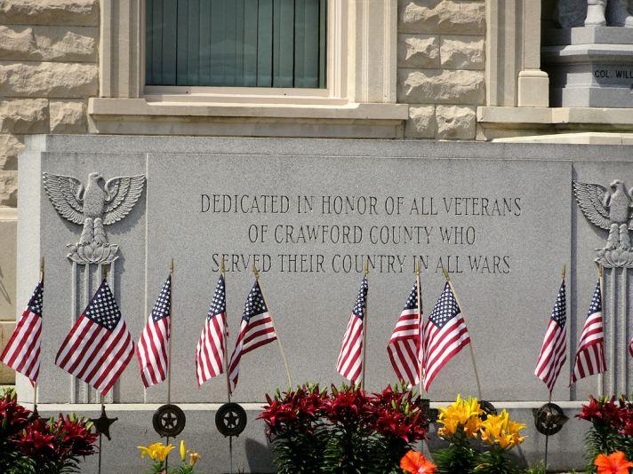 Crawford County Ohio War Memorial