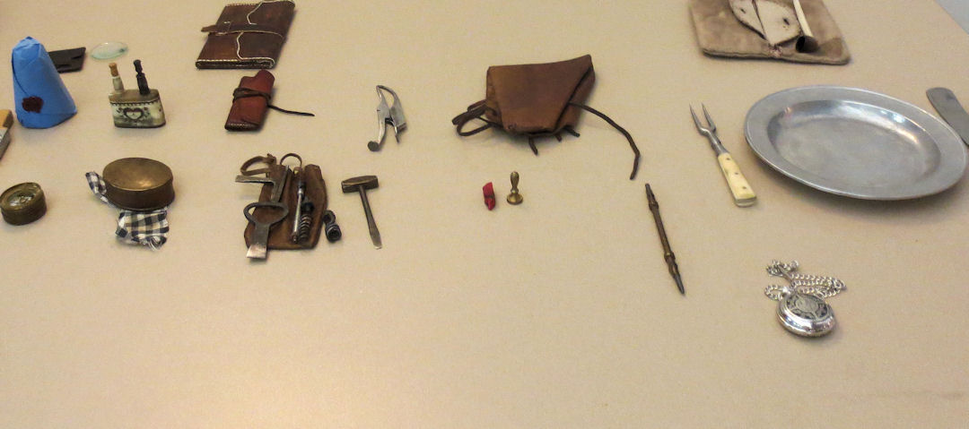 Tools from the Colonial Period presented by Jack Johnson at the June 2019 Crawford County Ohio Genealogy meeting.