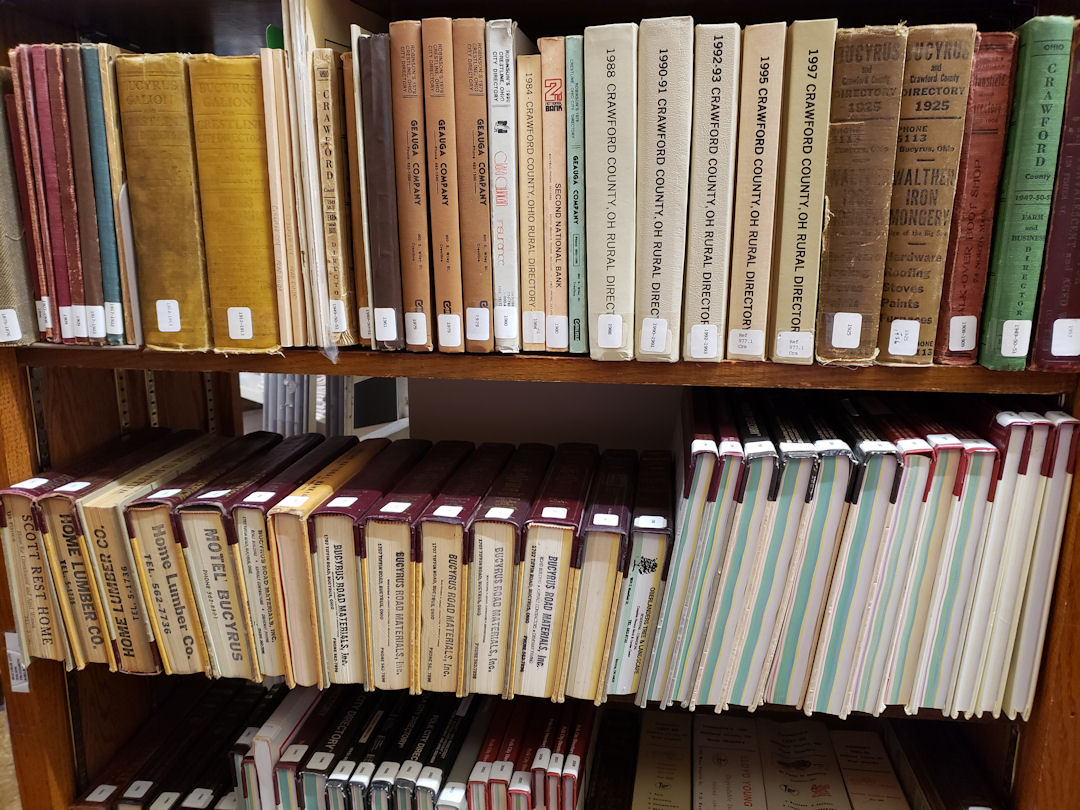 Crestine Public Library Backroom Resources